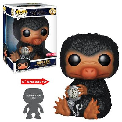 Niffler Fantastic Beasts Crimes of Grindelwald 10-inch Funko Pop 22 Target Exclusive