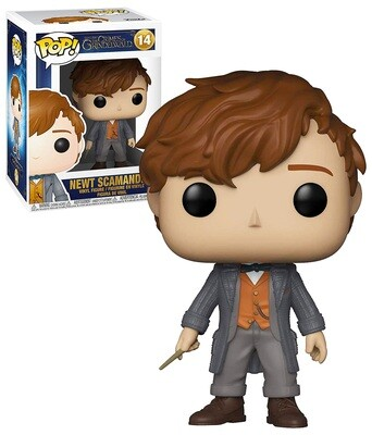 Newt Scamander (Wand) Fantastic Beasts Crimes of Grindelwald Funko Pop 14