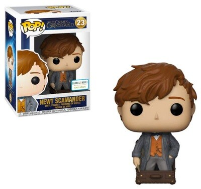 Newt Scamander (in Case) Fantastic Beasts Crimes of Grindelwald Funko Pop 23 Barnes & Noble Exclusive