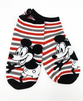 First Mickey circa 1928-1930 Mickey Mouse Disney No-Show Ankle Socks