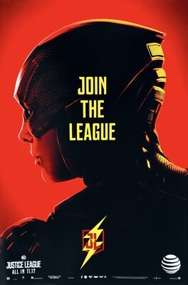 Flash Join the League Justice League DC Poster