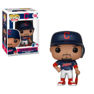 Francisco Lindor (Home Blue Jersey) Cleveland Indians MLB Funko Pop MLB 18