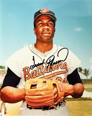 Frank Robinson Baltimore Orioles MLB Autographed 8x10 Photo (w/ Certificate of Authenticity)