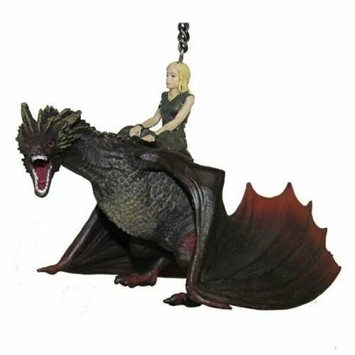 Daenerys Targaryen on Drogon Game of Thrones Kurt Adler  Christmas Tree Holiday Ornament
