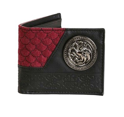 Targaryen Dragon Sigil Fire and Blood Game of Thrones Bi-Fold Wallet