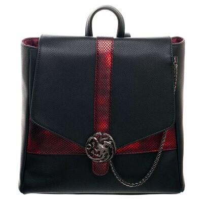 Targaryen Dragon Sigil Game of Thrones Thin Mini-Backpack