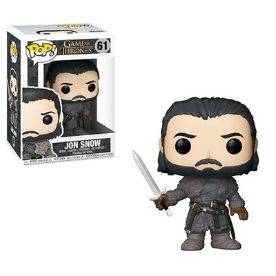Jon Snow (Beyond the Wall) Game of Thrones Funko Pop 61