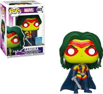 Gamora Marvel Funko Pop 441 Summer Convention Exclusive Limited Edition