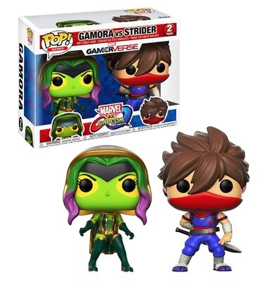 Gamora vs. Strider Marvel vs. Capcom: Infinite Funko Pop Games Gamerverse 2-Pack