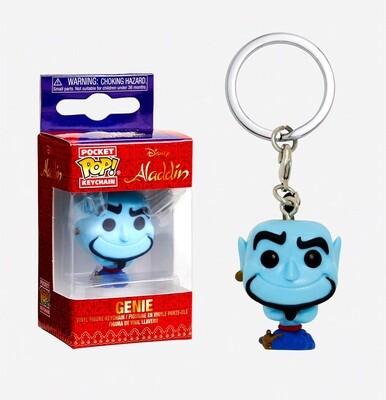 Genie Aladdin Disney Funko Pocket Pop Keychain