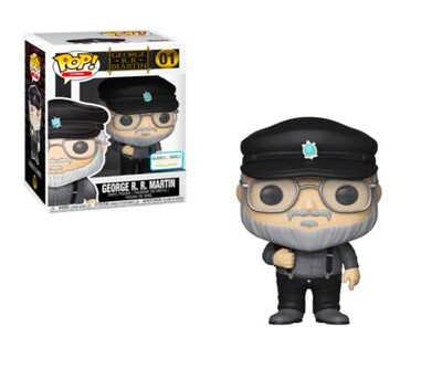 George R.R. Martin Game of Thrones Funko Pop Icons 01 Barnes & Noble Exclusive