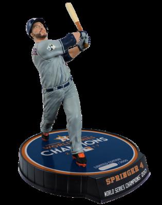 George Springer Houston Astros MLB 2017 World Series Champions World Series MVP Limited Edition