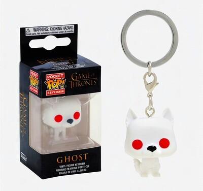 Ghost Game of Thrones Funko Pocket Pop Keychain