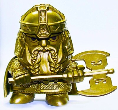 Gimli (Gold) the Lord of the Rings Funko Mini Figure Barnes & Noble Exclusive