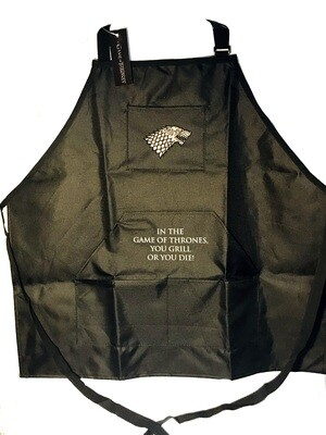 Stark Direwolf Sigil Game of Thrones Inspired Grill Apron Culturefly Exclusive