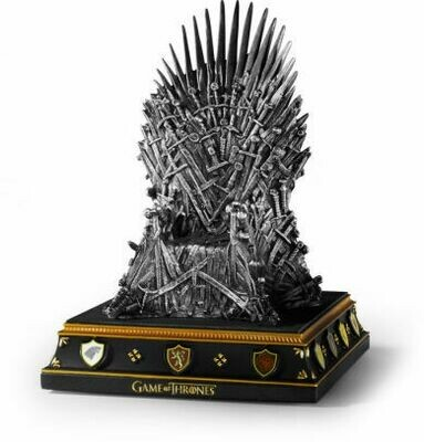 Iron Throne Game of Thrones The Noble Collection Bookend
