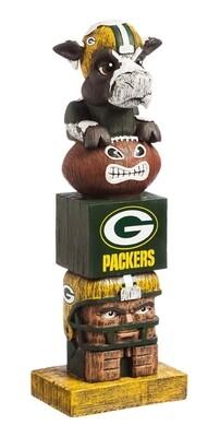 Green Bay Packers NFL Garden Statue Spirit Totem