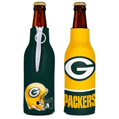 Green Bay Packers Helmet & Logo NFL Bottle Hugger