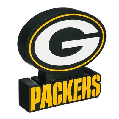 Green Bay Packers NFL Team Logo Statue