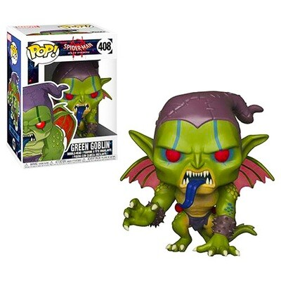 Green Goblin Spider-man into the Spider-verse Marvel Funko Pop 408
