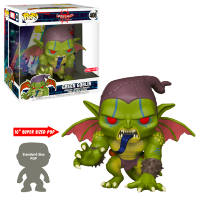 Green Goblin Spider-man into the Spider-verse Marvel 10-inch Funko Pop 408 Target Exclusive