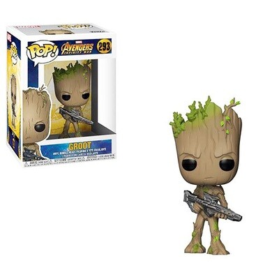 Groot with Blaster Avengers Infinity War Marvel Funko Pop 283