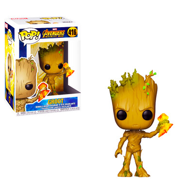 Groot with Stormbreaker Avengers Infinity War Marvel Funko Pop 416