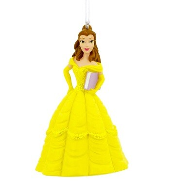 Belle Beauty and the Beast Disney Princess Hallmark Christmas Tree Holiday Ornament