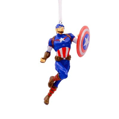 Captain America Avengers Marvel Hallmark Christmas Tree Holiday Ornament