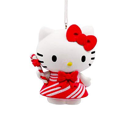 Hello Kitty Hallmark Christmas Tree Holiday Ornament