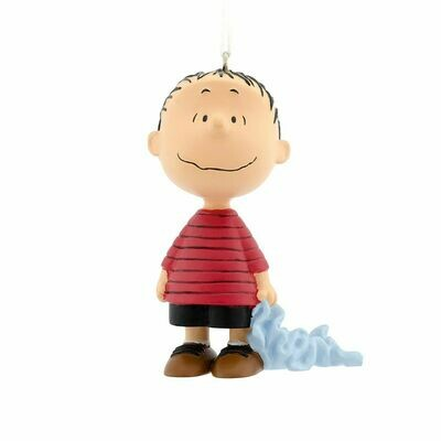 Linus Peanuts Hallmark Christmas Tree Holiday Ornament