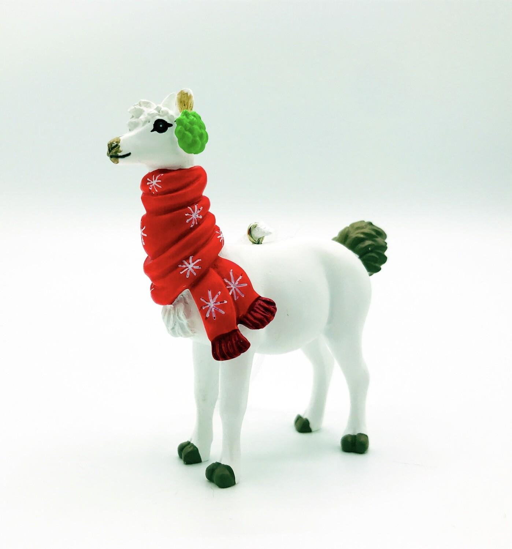 Llama in Winter Hallmark Christmas Tree Holiday Ornament Walmart Exclusive