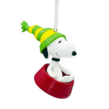 Snoopy Peanuts Hallmark Christmas Tree Holiday Ornament