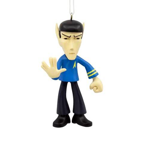 Spock Star Trek Hallmark Christmas Tree Holiday Ornament