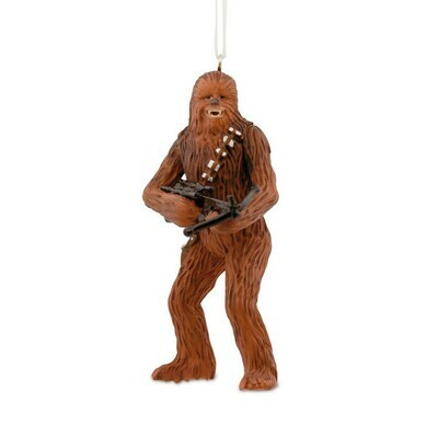 Chewbacca Star Wars Hallmark Christmas Tree Holiday Ornament