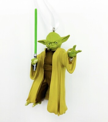 Yoda Star Wars Hallmark Christmas Tree Holiday Ornament