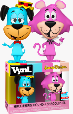 Huckleberry Hound + Snagglepuss Hanna Barbera Funko Vynl Fall Convention Exclusive Limited Edition