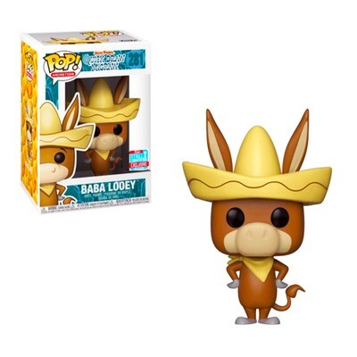 Baba Looey Quick Draw McGraw Hanna Barbera Funko Pop Animation 281 Fall Convention Exclusive Limited Edition