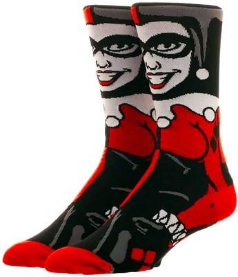 Harley Quinn DC Comics 360-Degree Character Crew Socks