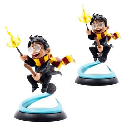 Harry Potter First Flight Harry Potter Quantum Mechanix Qmx Q-Fig