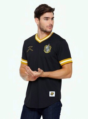 Hufflepuff Harry Potter Short Sleeve Quidditch Jersey