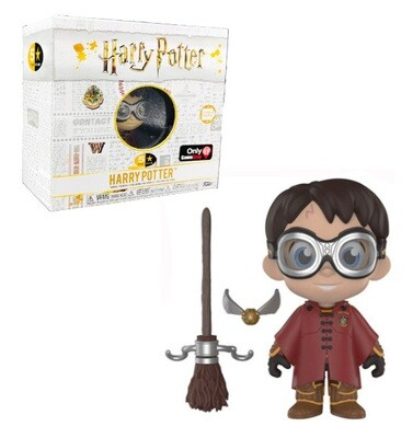 Harry Potter Quidditch with Broom and Snitch Harry Potter Funko 5-Star Figure Gamestop Exclusive