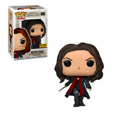 Hester Shaw (Unmasked) Mortal Engines Funko Pop Movies 680 Hot Topic Exclusive