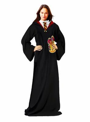 Gryffindor Hogwarts Uniform Harry Potter Robe Sleeve Throw Blanket