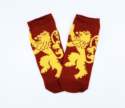 House Lannister Lion Sigil Game of Thrones No-Show Ankle Socks