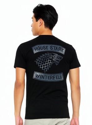 House Stark Direwolf Winterfell  Game of Thrones T-shirt
