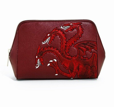 House Targaryen Dragon Fire and Blood Game of Thrones Danielle Nicole Cosmetic Bag