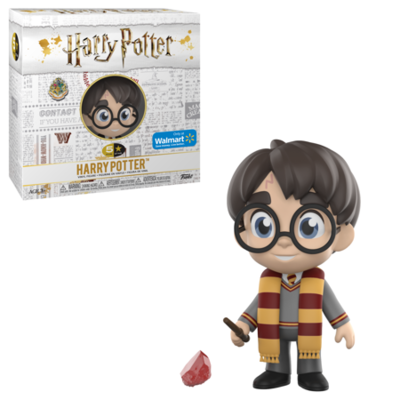 Harry Potter with Gryffindor Scarf and Stone Harry Potter Funko 5-Star Figure Walmart Exclusive