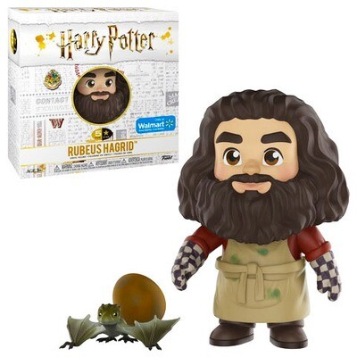 Rubeus Hagrid with Norbert and Dragon Egg Harry Potter Funko 5-Star Figure Walmart Exclusive