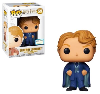 Gilderoy Lockhart (Blue Suit) Harry Potter Funko Pop 59 Barnes & Noble Exclusive